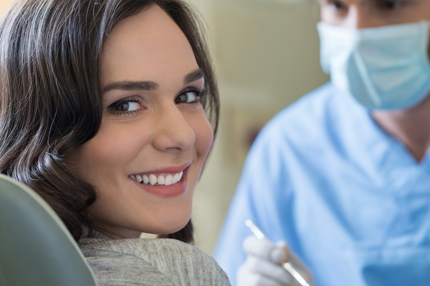 Young woman at Dental appointment